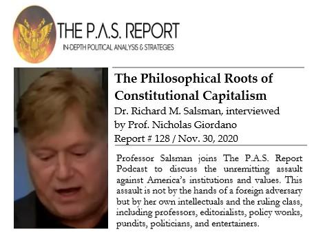 Richard Salsman media appearance, Richard Salsman