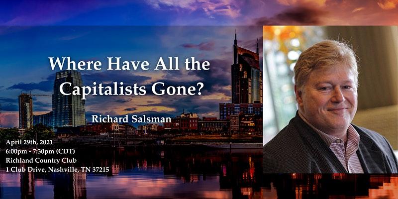 Richard Salsman Public Speaker, Richard Salsman